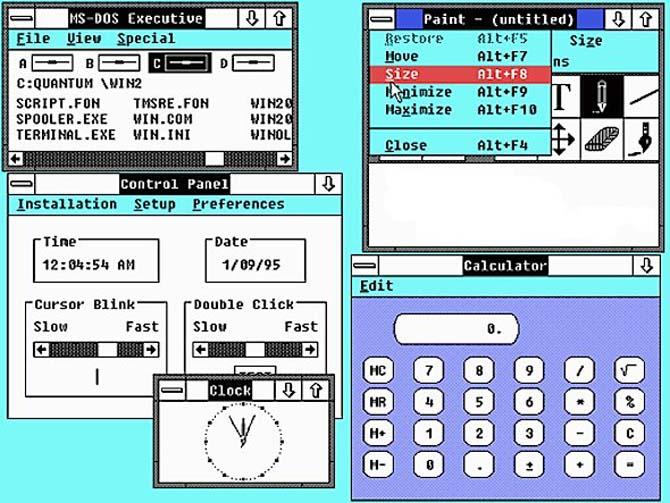 Lịch sử 30 năm phát triển của Windows